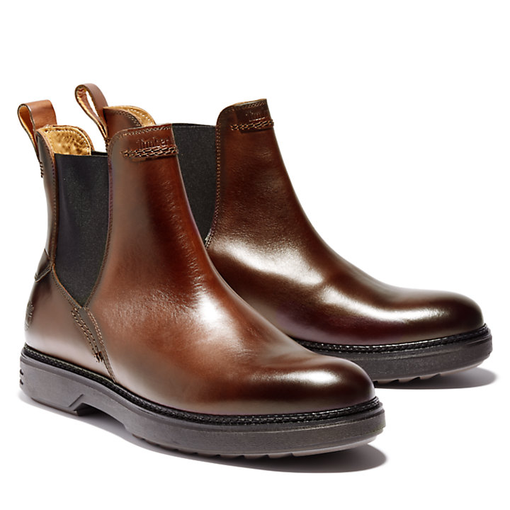 RR 4610 Chelsea Boot for Men in Brown-