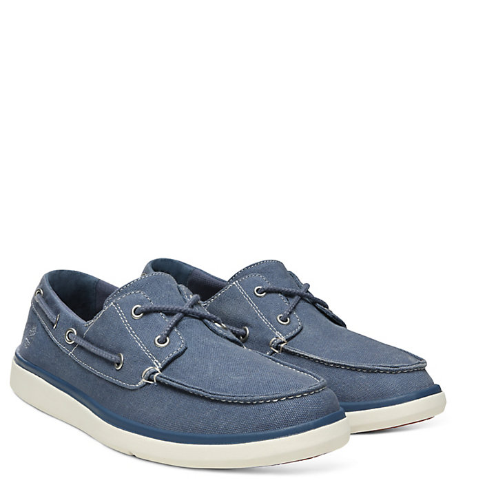 Gateway Pier Boat Shoe for Men in Dark Blue-