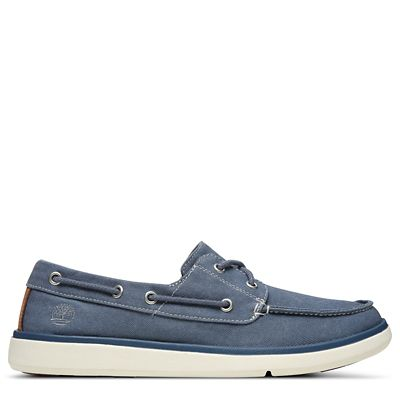 Gateway+Pier+Boat+Shoe+for+Men+in+Dark+Blue