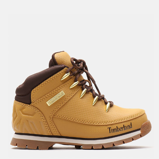 Euro Sprint Hiker for Youth in Yellow | Timberland