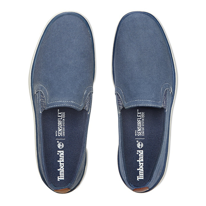 Gateway Pier Slip-On for Men in Dark Blue-