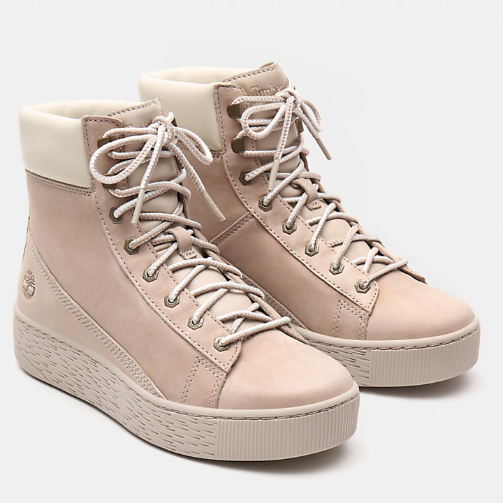 Marblesea Hi-Top-Sneaker für Damen in Hellpink-