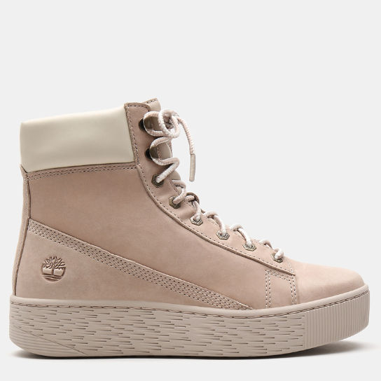 Marblesea Hightop Sneaker for Women in Light Pink | Timberland