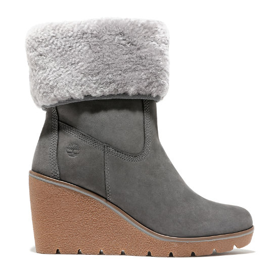 Paris Height 6 Inch Boot for Women in Grey | Timberland