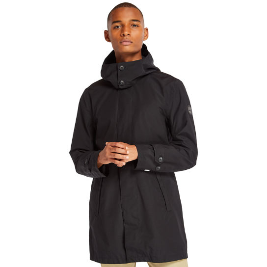 Doubletop Mountain Raincoat for Men in Black | Timberland