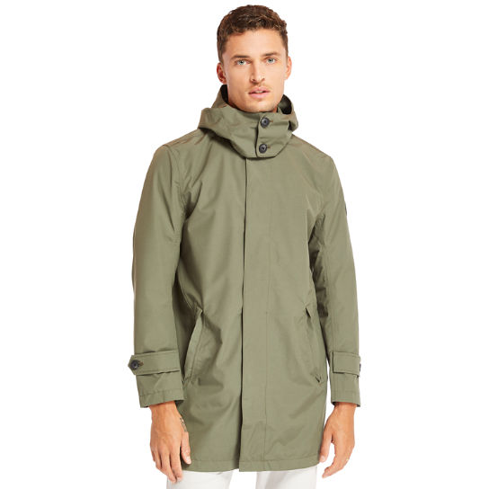 Doubletop Mountain Raincoat for Men in Green | Timberland