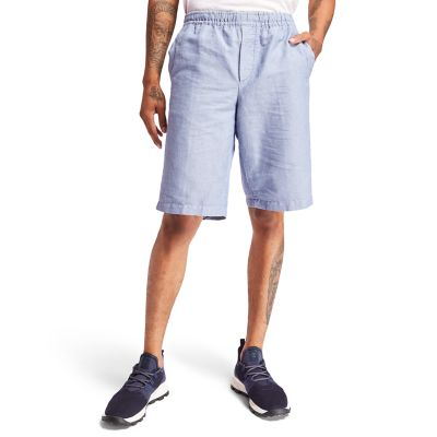 Tarleton+Lake+Short+voor+Heren+in+blauw