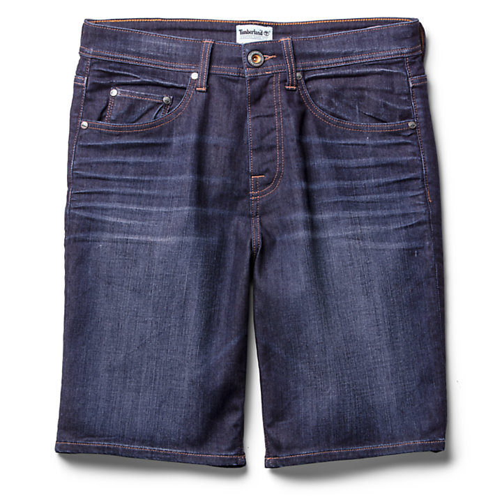 Canobie Lake Denim Short voor Heren in blauw-
