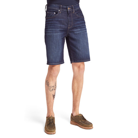 Canobie Lake Denim Short voor Heren in blauw | Timberland