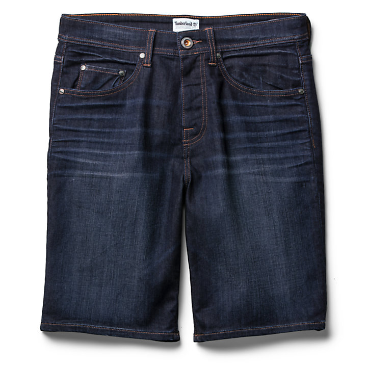 Shorts da Uomo in Denim Canobie Lake in indaco-