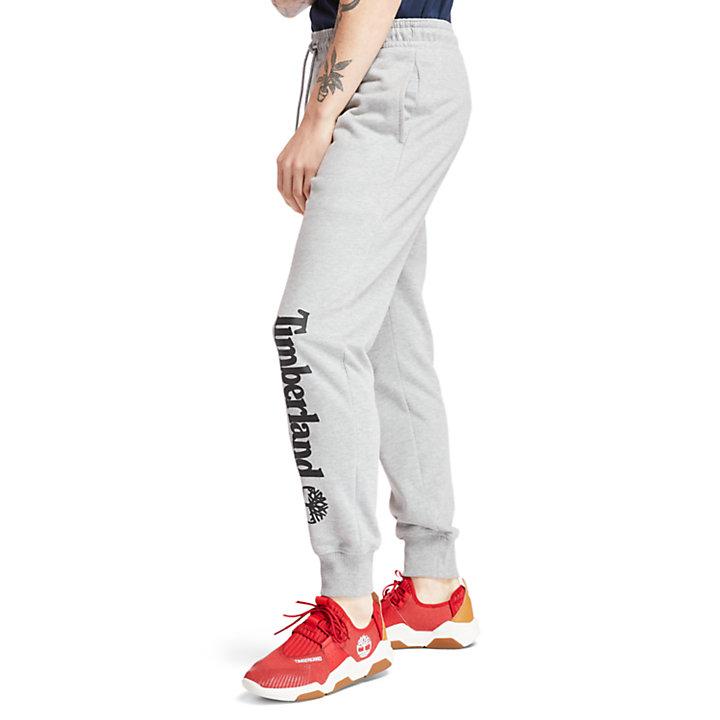 Pantalón de Chándal con Logotipo Timberland® para Hombre en gris-