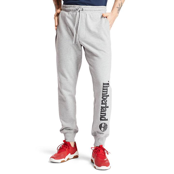 Pantaloni Sportivi da Uomo con Logo Timberland® in grigio-