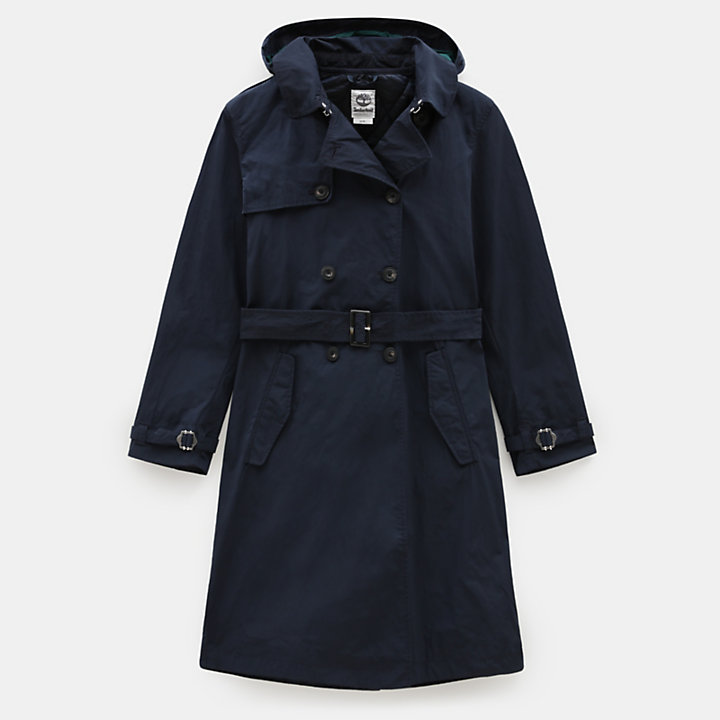 Mount Mitten 2-in-1 Trenchcoat voor Dames in marineblauw-