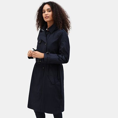 Mount+Mitten+2-in-1-Trenchcoat+f%C3%BCr+Damen+in+Marineblau