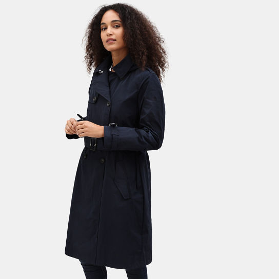 Mount Mitten 2-in-1 Trenchcoat voor Dames in marineblauw | Timberland