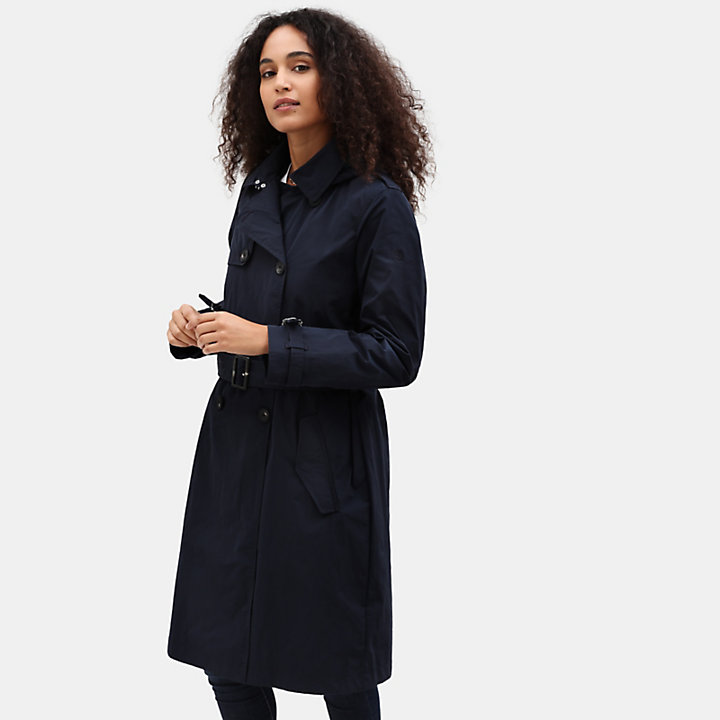 Mount Mitten 2 in 1 Trenchcoat for Women in Navy-
