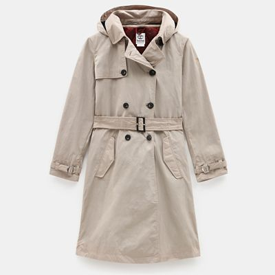 Mount+Mitten+2-in-1+Trenchcoat+voor+Dames+in+Taupe