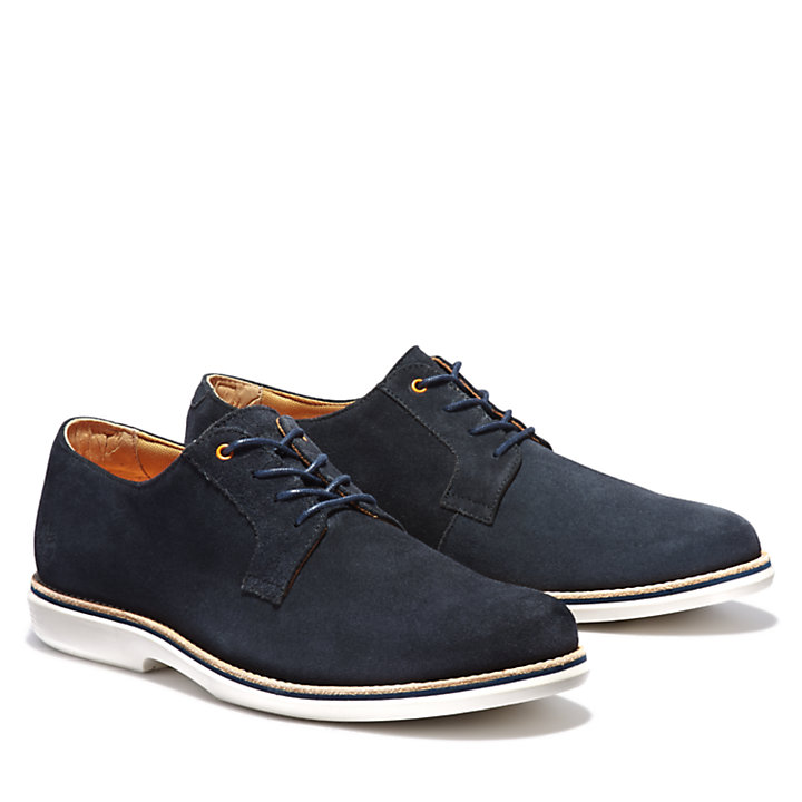 City Groove Oxford Shoe for Men in Navy-