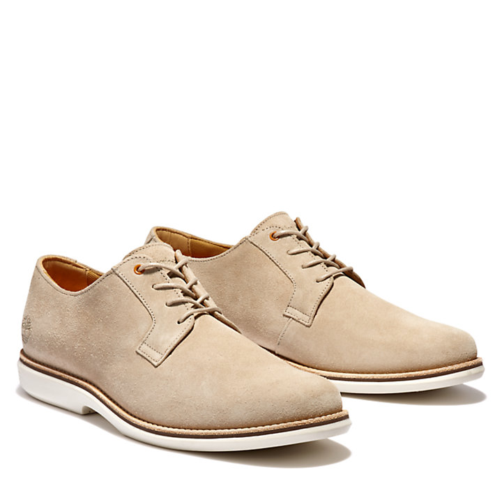 City Groove Oxford Shoe for Men in Beige-