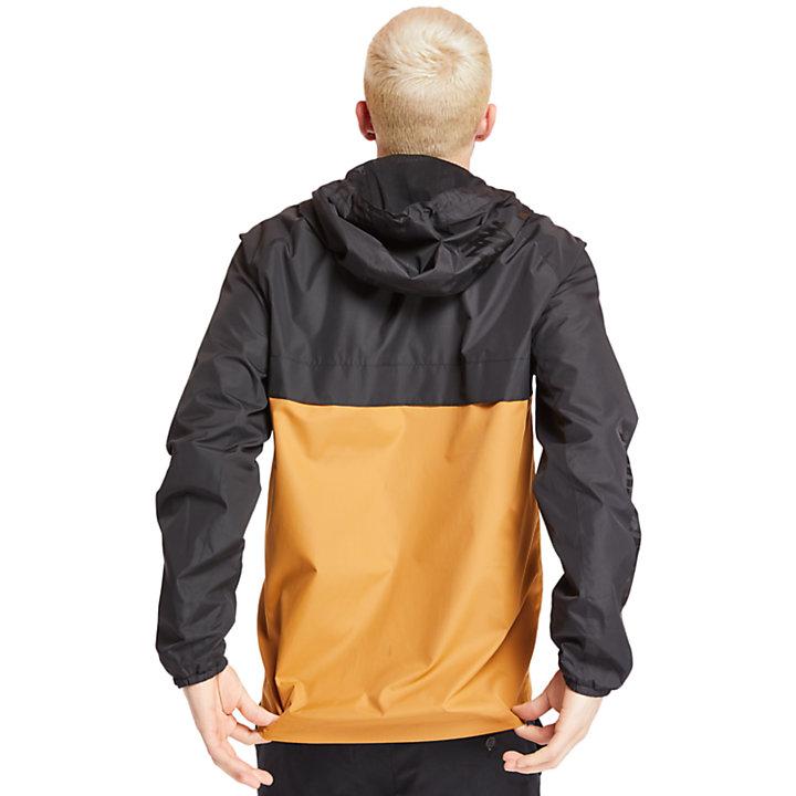 Veste isolante à capuche pour homme en noir-