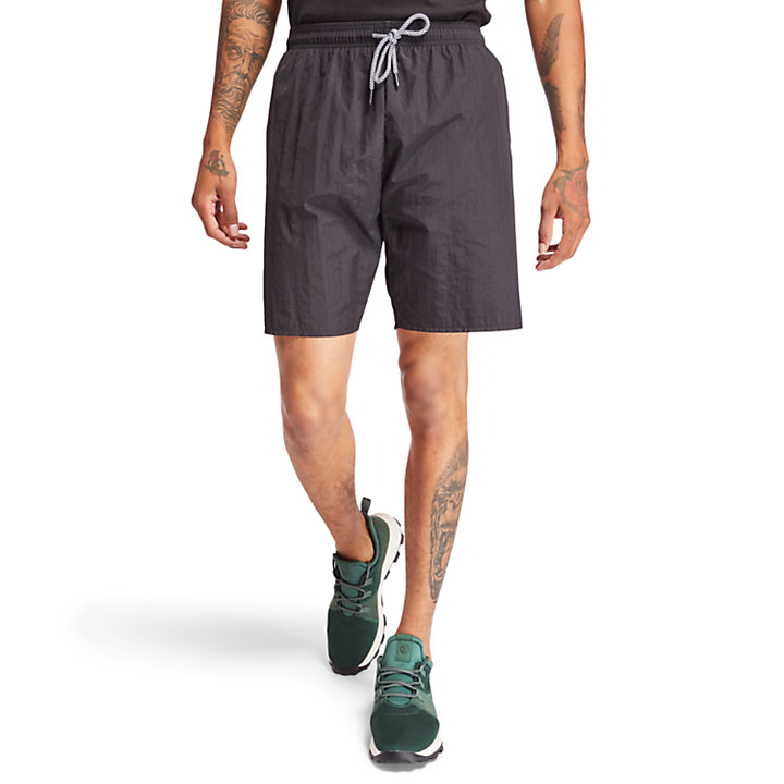 Sunapee Lake Swimming Trunks for Men in Black-