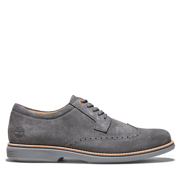 City Groove Brogue Oxford for Men in Dark Grey-