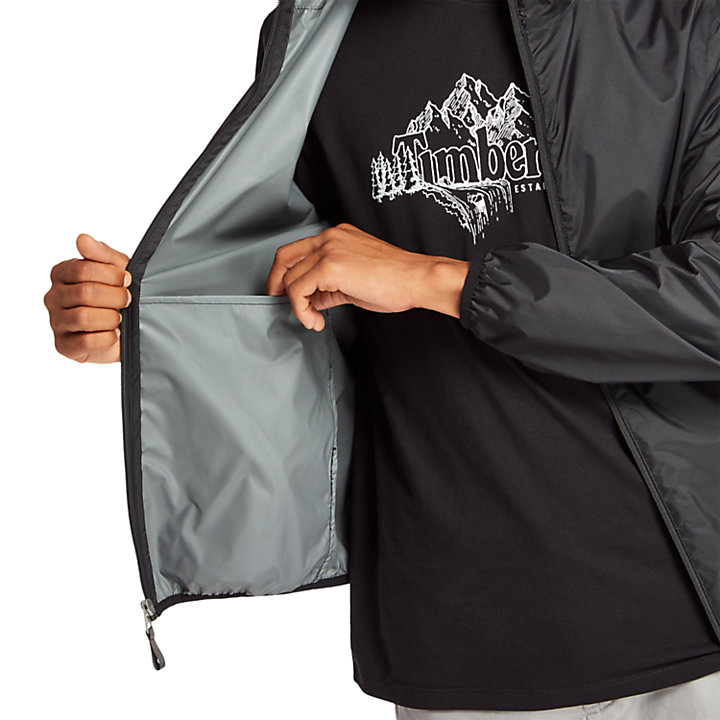 Chubasquero Plegable Mt Franklin para Hombre en color negro-
