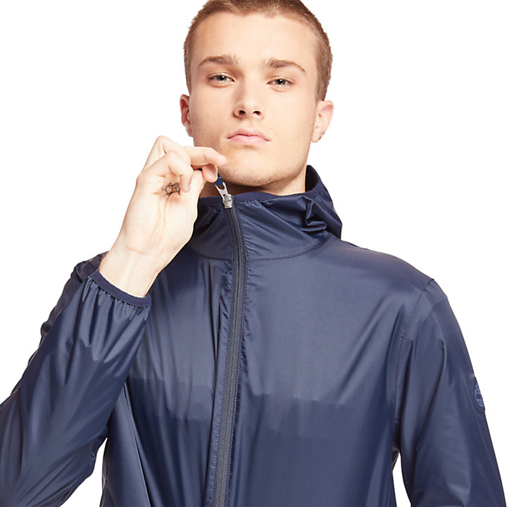 Mt Franklin Packable Rain Jacket for Men in Navy-