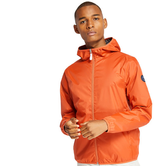 Mt Franklin Packable Rain Jacket for Men in Peach | Timberland
