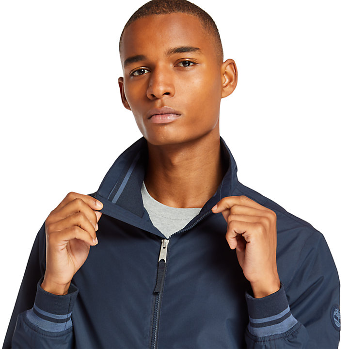 Mt Franklin Bomber Jacket for Men in Navy-