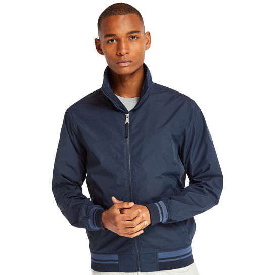 Mt Franklin Bomber Jacket for Men in Navy | Timberland