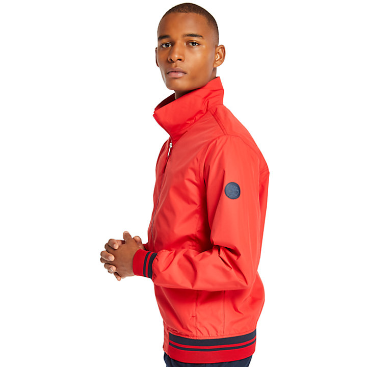 Mt Franklin Bomber Jacket for Men in Red-