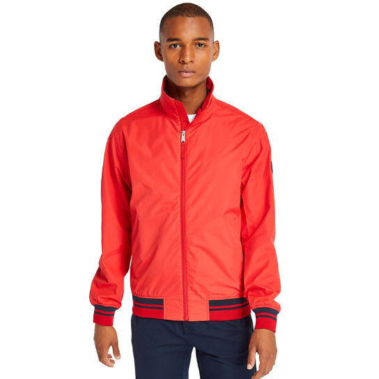 Mt Franklin Bomber Jacket for Men in Red | Timberland
