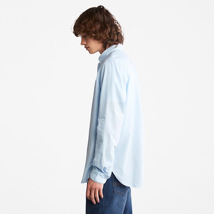 Ela River Overhemd voor Heren in blauw-