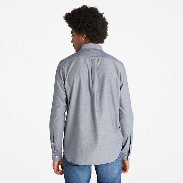 Ela River Oxfordhemd für Herren in Navyblau-