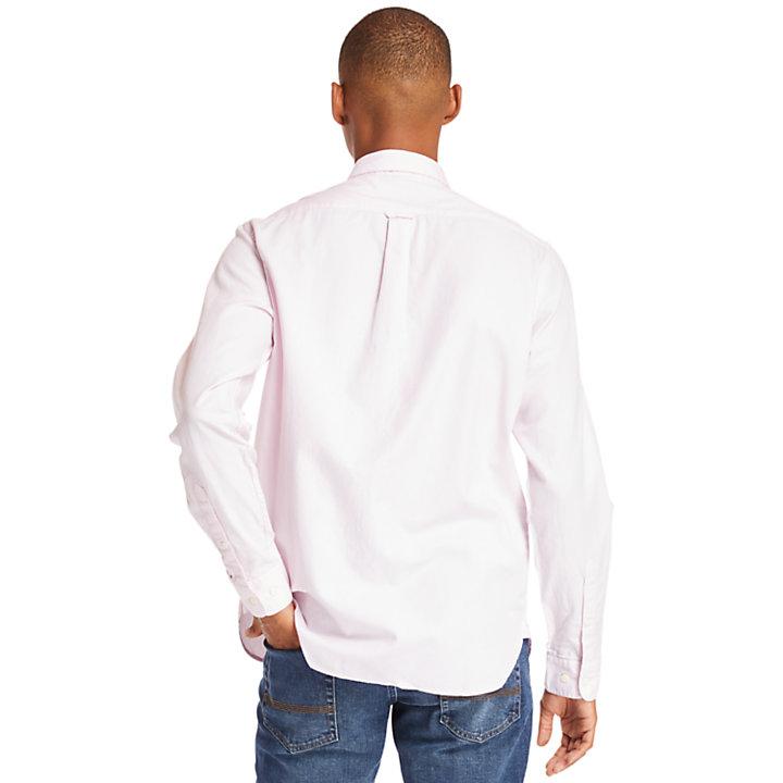 Chemise oxford Ela River pour homme en lilas-