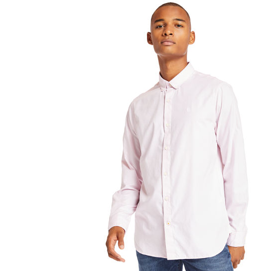 Ela River Oxford Shirt for Men in Lilac | Timberland
