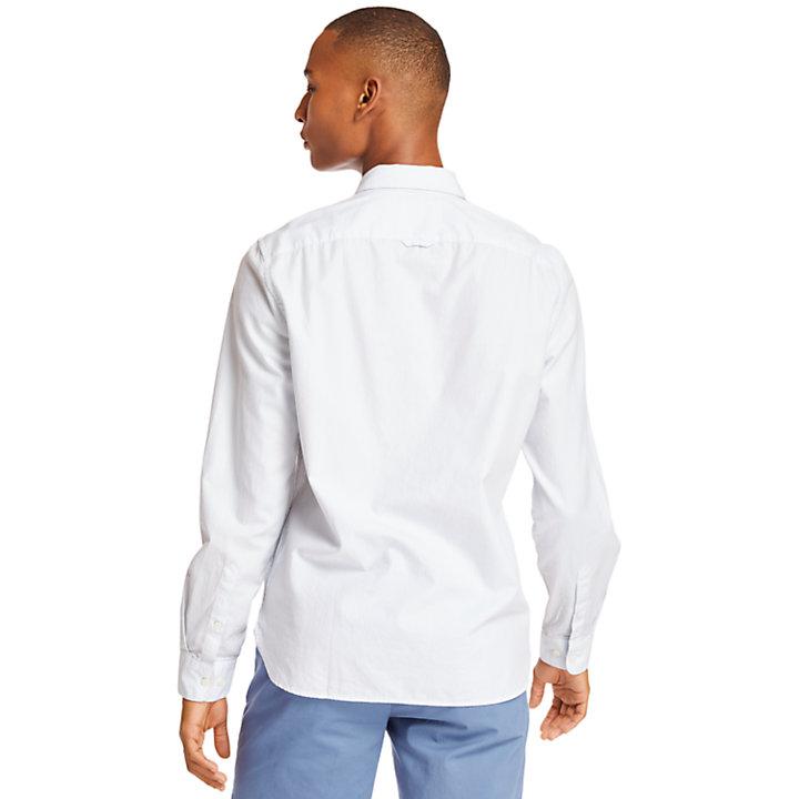 Camicia da Uomo a Righe Ela River in blu chiaro-
