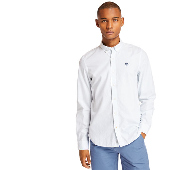 Ela River Striped Shirt for Men in Light Blue | Timberland
