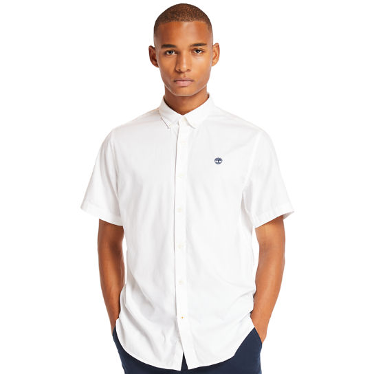 Chemise manches courtes Ela River homme en blanc | Timberland