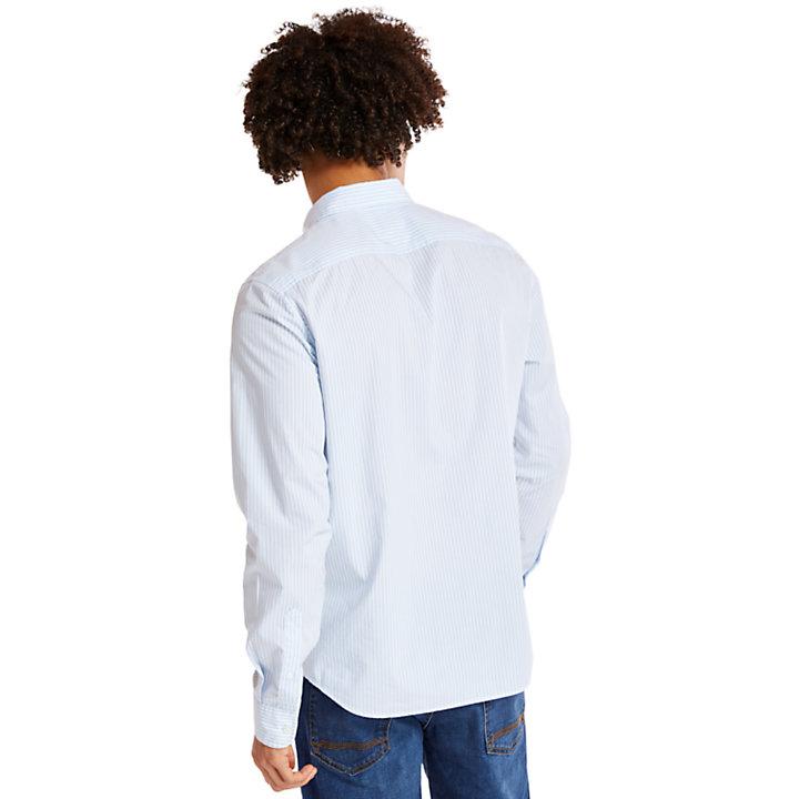 Chemise rayée Saco River pour homme en bleu-