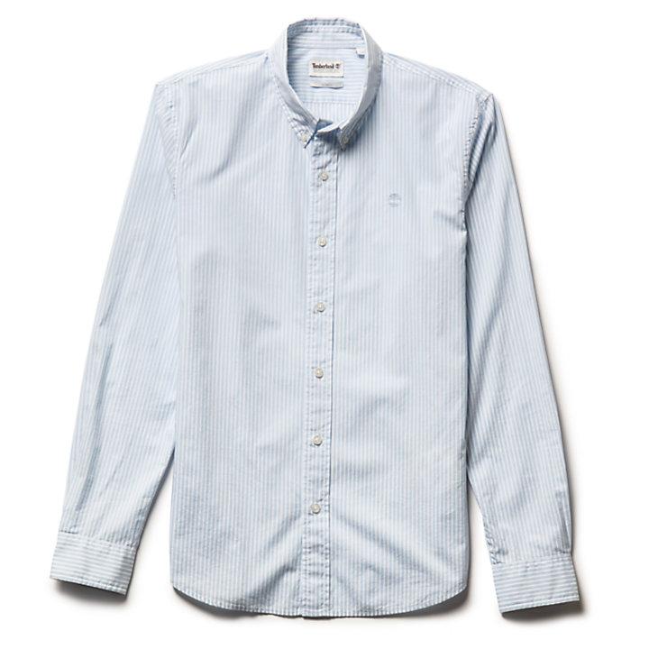 Saco River Striped Overhemd voor Heren in blauw-