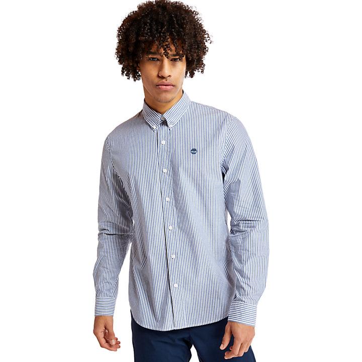 Camisa a Rayas Saco River para Hombre en añil-