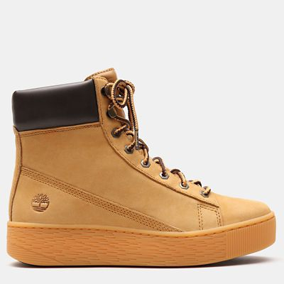 Marblesea+Hightop+Sneaker+for+Women+in+Yellow