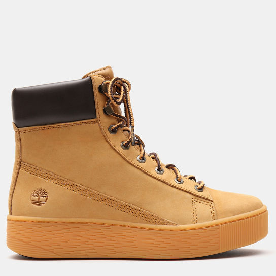 Marblesea Hightop Sneaker for Women in Yellow | Timberland