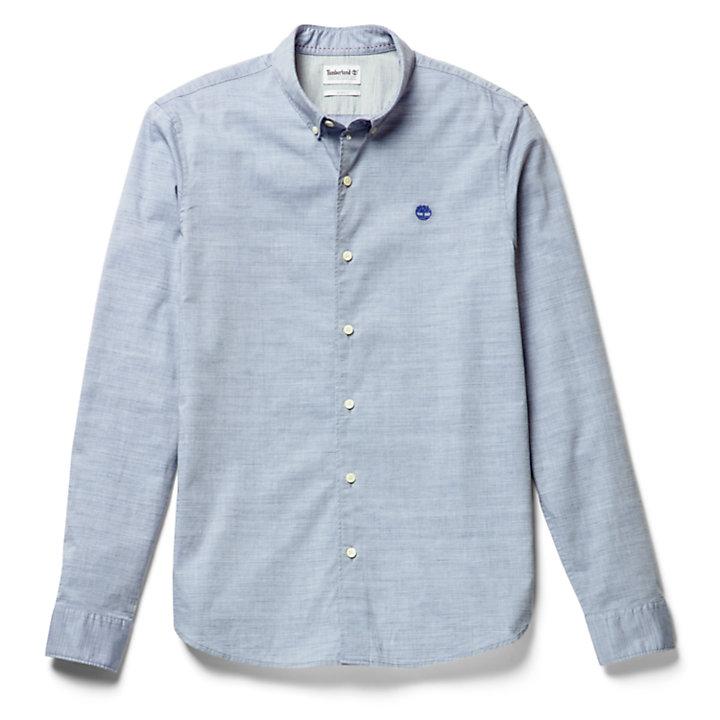 Camisa Tioga River para Hombre en azul-