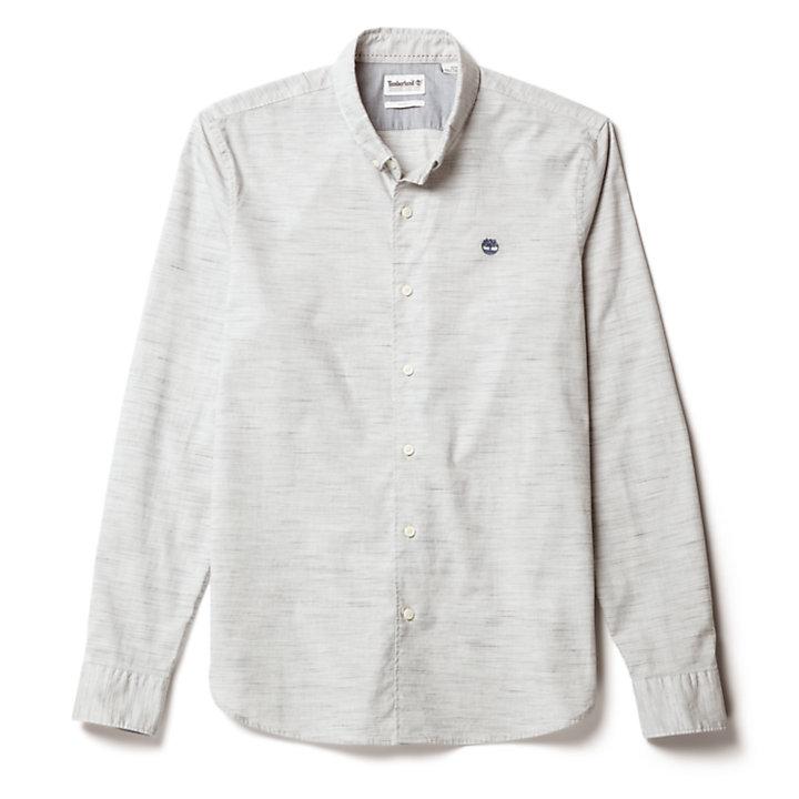 Camicia da Uomo Tioga River in grigio-