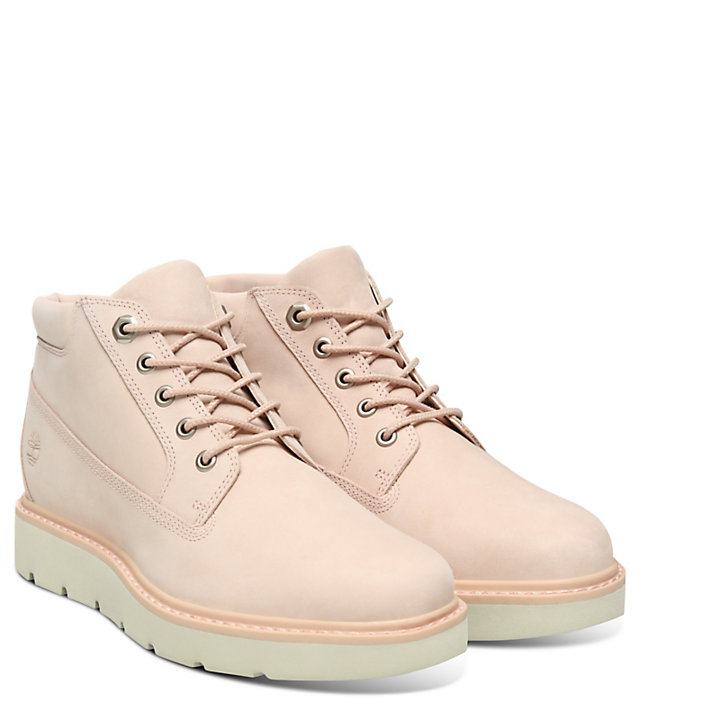 Kenniston Nellie Chukka for Women in Light Pink-