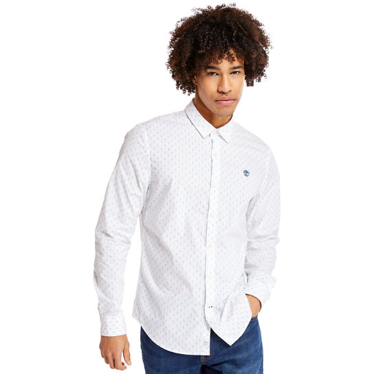 Eastham River Leaf Shirt for Men in White | Timberland