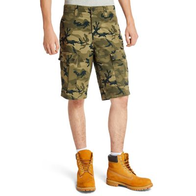 Tarleton+Lake+Cargo+Shorts+for+Men+in+Green+Camo